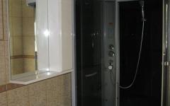 замена герметика в душевой кабине