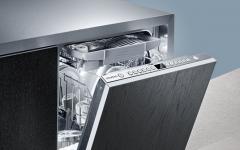 Установка посудомойки Siemens