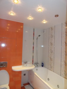 Варианты отделки ванных комнат