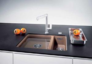 Материалы изготовления кухонных моек