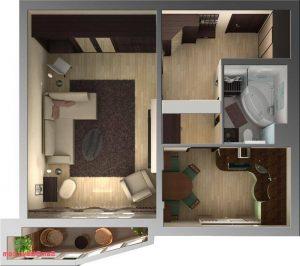 дизайн квартиры в хрущевке