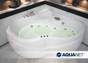 1а. Акриловая ванна Aquanet Bellona