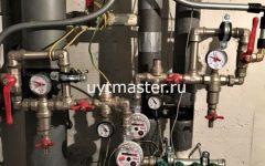 монтаж труб водоснабжения рехау
