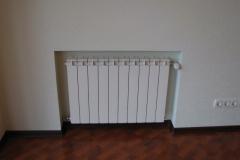 Монтаж биметаллического радиатора
