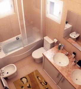Выбор сантехники для малогабаритной ванны