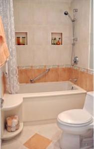 Ремонт маленьких ванных комнат - уют и удобство