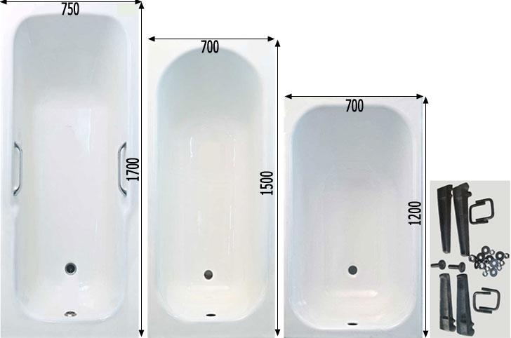 чугунные ванны фото