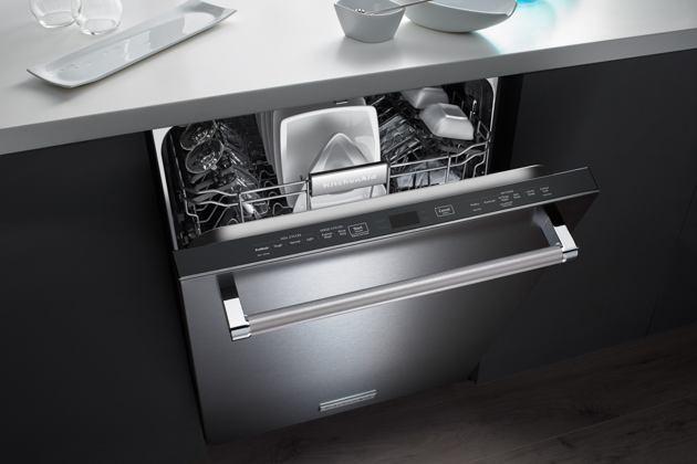 установка посудомойки фото