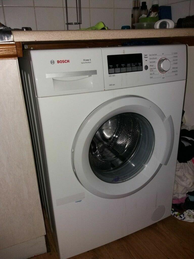 установка стиральной машины bosch